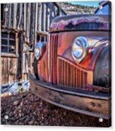 Rusty Old Truck In A Ghost Town In Arizona Acrylic Print