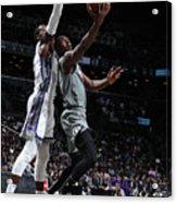 Sacramento Kings V Brooklyn Nets Acrylic Print