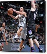 Sacramento Kings V San Antonio Spurs Acrylic Print