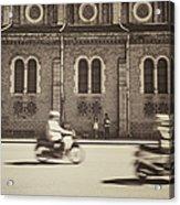 Saigon Old Corner Acrylic Print