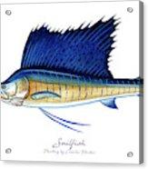 Sailfish Acrylic Print