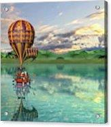 Sailing Away Daydream Steampunk Custom Acrylic Print