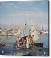 Sailing Dinghy Acrylic Print