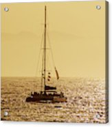 Sailing In The Sunlight Acrylic Print