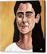 Saint Agnes Acrylic Print