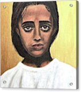 Saint Maria Goretti Acrylic Print