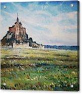 Mont Saint Michel Normandy France 2019 Acrylic Print