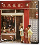 Saint-tropez Boucherie Acrylic Print