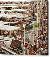 Saint-tropez Seafront Acrylic Print