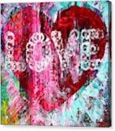 Saint Valentines Day Acrylic Print