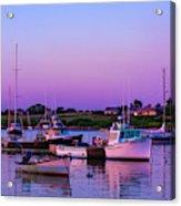 Sakonnet Point Boats Acrylic Print