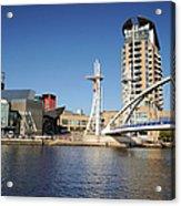 Salford Quays, Manchester Acrylic Print
