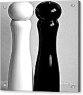 Salt & Pepper Acrylic Print