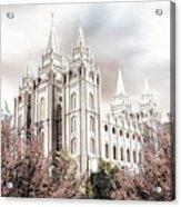 Salt Lake Latter Day Temple Acrylic Print