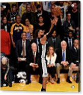 San Antonio Spurs V Los Angeles Lakers Acrylic Print