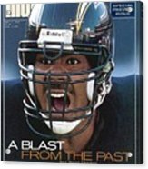 San Diego Chargers Junior Seau, 1993 Nfl Football Preview Sports Illustrated Cover Acrylic Print