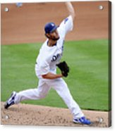 San Diego Padres V Los Angeles Dodgers Acrylic Print