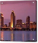 San Diego Panorama Acrylic Print
