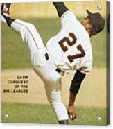 San Francisco Giants Juan Marichal Sports Illustrated Cover Acrylic Print