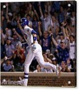 San Francisco Giants V Chicago Cubs Acrylic Print