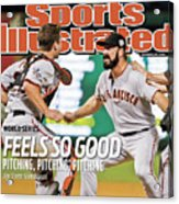 San Francisco Giants V Texas Rangers, Game 5 Sports Illustrated Cover Acrylic Print