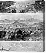 San Francisco In November, 1848, 1858 Acrylic Print