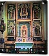 San Gabriel Mission No. 2, High Altar Acrylic Print
