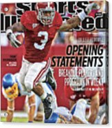 San Jose State V Alabama Sports Illustrated Cover Acrylic Print