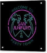 San Junipero Acrylic Print