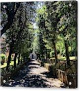 San Paolo Alle Tre Fontane Acrylic Print