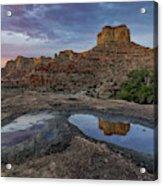 San Rafael Canyon Sunrise Acrylic Print