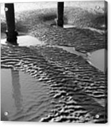 Sand Shadows Acrylic Print