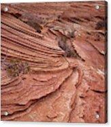 Sand Texture Acrylic Print
