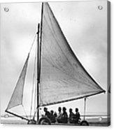 Sand Yachting Acrylic Print