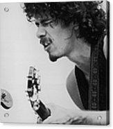 Santana At Woodstock Acrylic Print