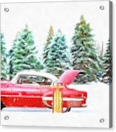 Santa's Other Sleigh Acrylic Print