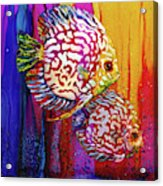 Sassy Sea Sisters Acrylic Print
