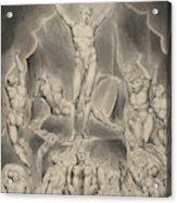 Satan Calling Up His Legions Acrylic Print