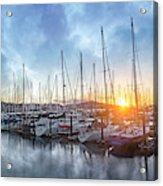 Sausalito California Morning Airs Acrylic Print