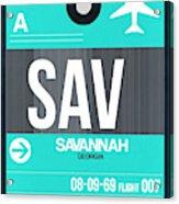 Sav Savannah Luggage Tag II Acrylic Print