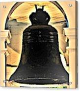 Savannah Exchange Bell Acrylic Print