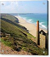 Scenic Cornwall - St Agnes Head Acrylic Print