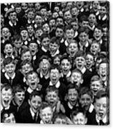 Schoolboys Cheer Acrylic Print