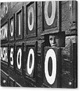 Scoreboard Peep Acrylic Print