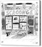Scrounge Acrylic Print