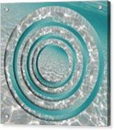 Seabed Circles Acrylic Print