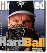 Seattle Mariners Randy Johnson, 1997 Mlb Baseball Preview Sports Illustrated Cover Acrylic Print