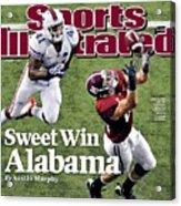 Sec Championship - Alabama V Florida Sports Illustrated Cover Acrylic Print