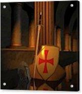 Secret Of The Knights Templar Acrylic Print