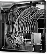 Secretary With Pneumatic Tube Acrylic Print
